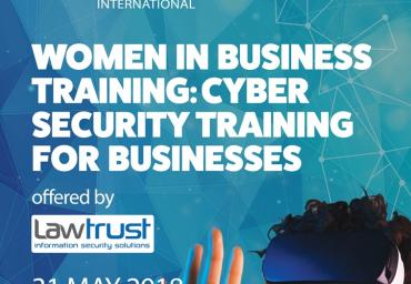 31st May 2018 - LawTrust  Workshop on Cyber Security for Business owners